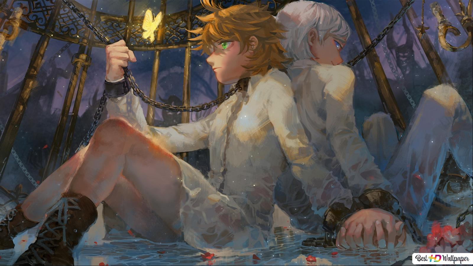 The Promised Neverland Emma Norman Hd Wallpaper Download