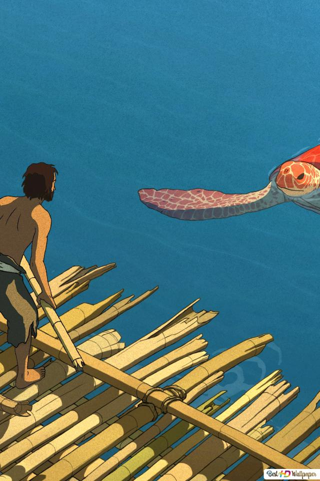 The Red Turtle Hd Wallpaper Download