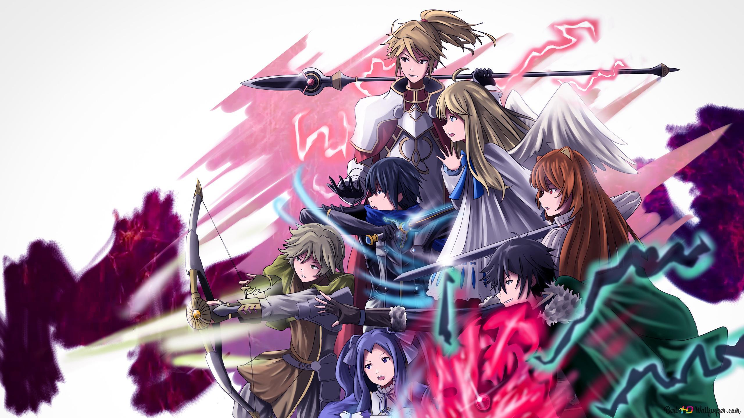 The Rising Of The Shield Hero Naofumi Iwatani Raphtalia Firo Ren