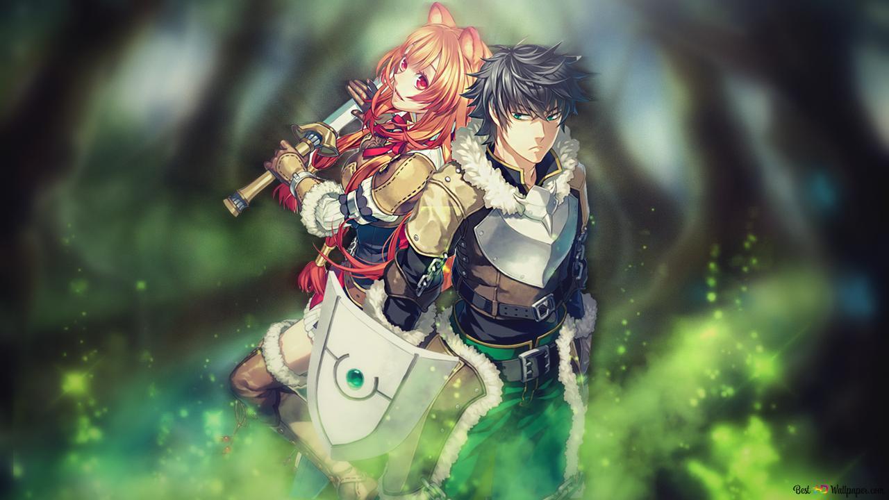 The rising of the shield hero naofumi iwatani raphtalia hd wallpaper download - The rising of the shield hero raphtalia ...