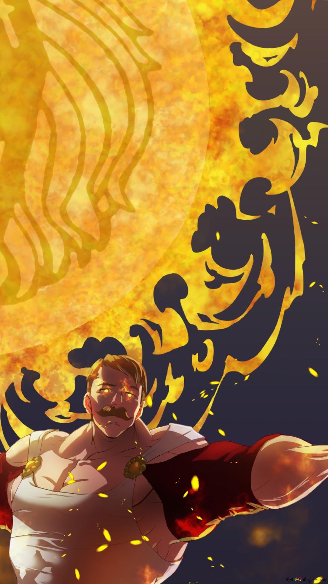 The Seven Deadly Sins Escanor Lion S Sin Hd Wallpaper Download