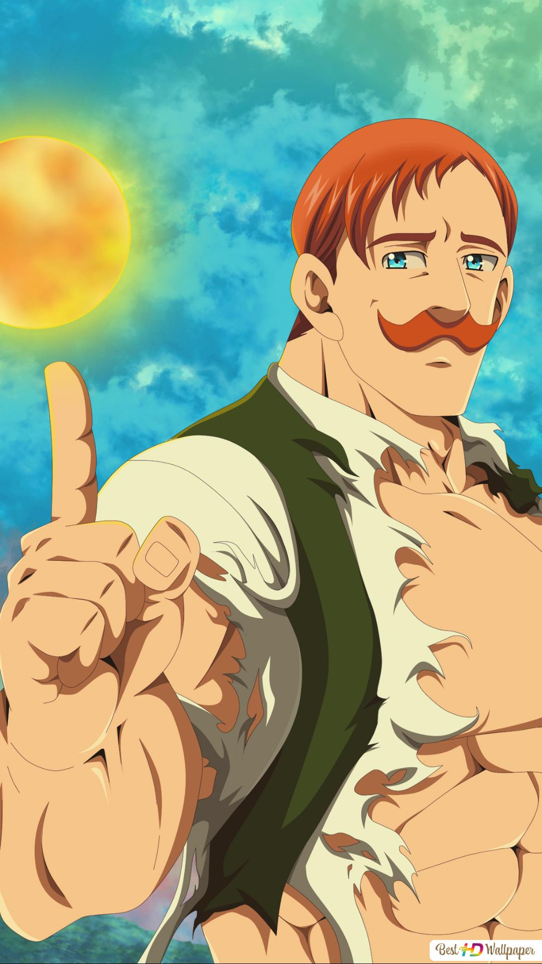 The Seven Deadly Sins Escanor Hd Wallpaper Download