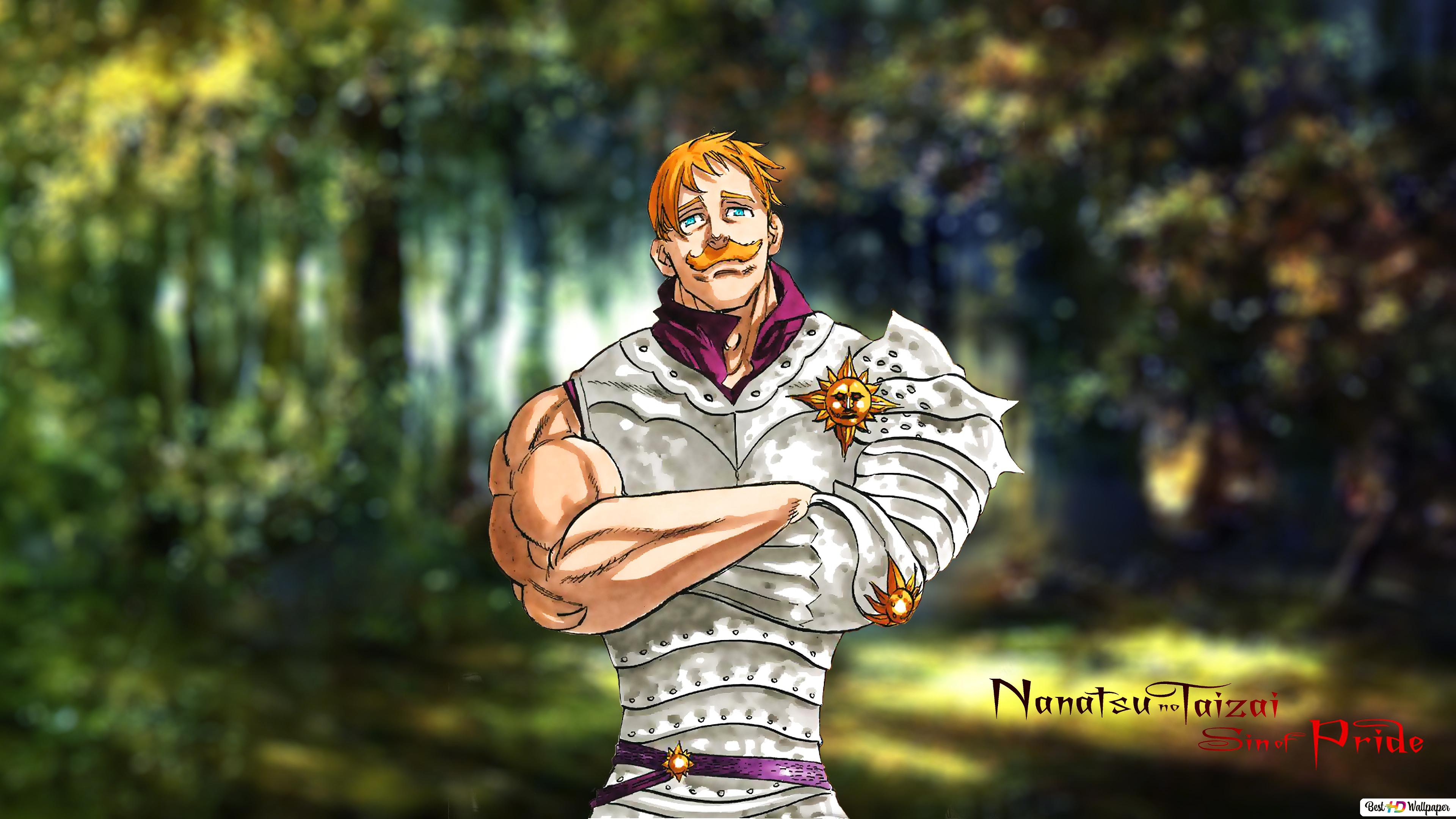 The Seven Deadly Sins Lion S Sin Escanor Hd Wallpaper Download