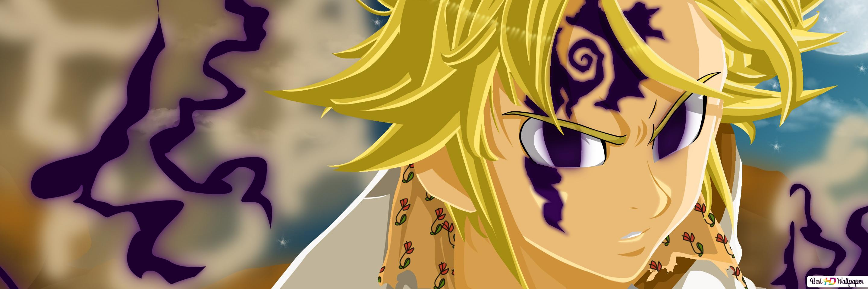 Wallpaper Meliodas Demon Mode: Meliodas Demon Mode HD Wallpaper