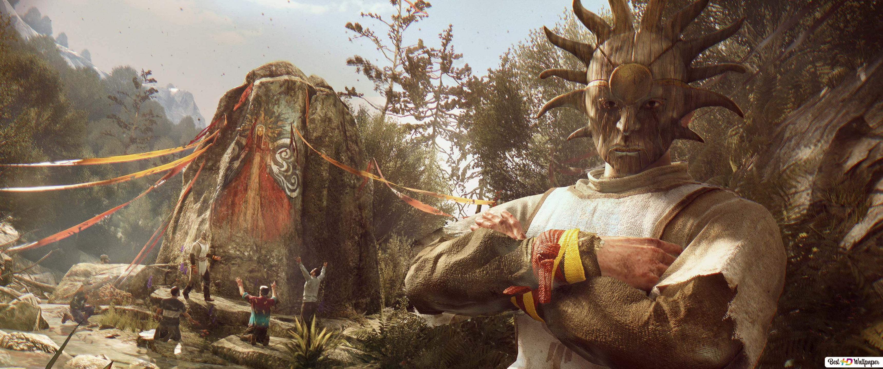 The Temple Of Dying Light Hd Wallpaper Download