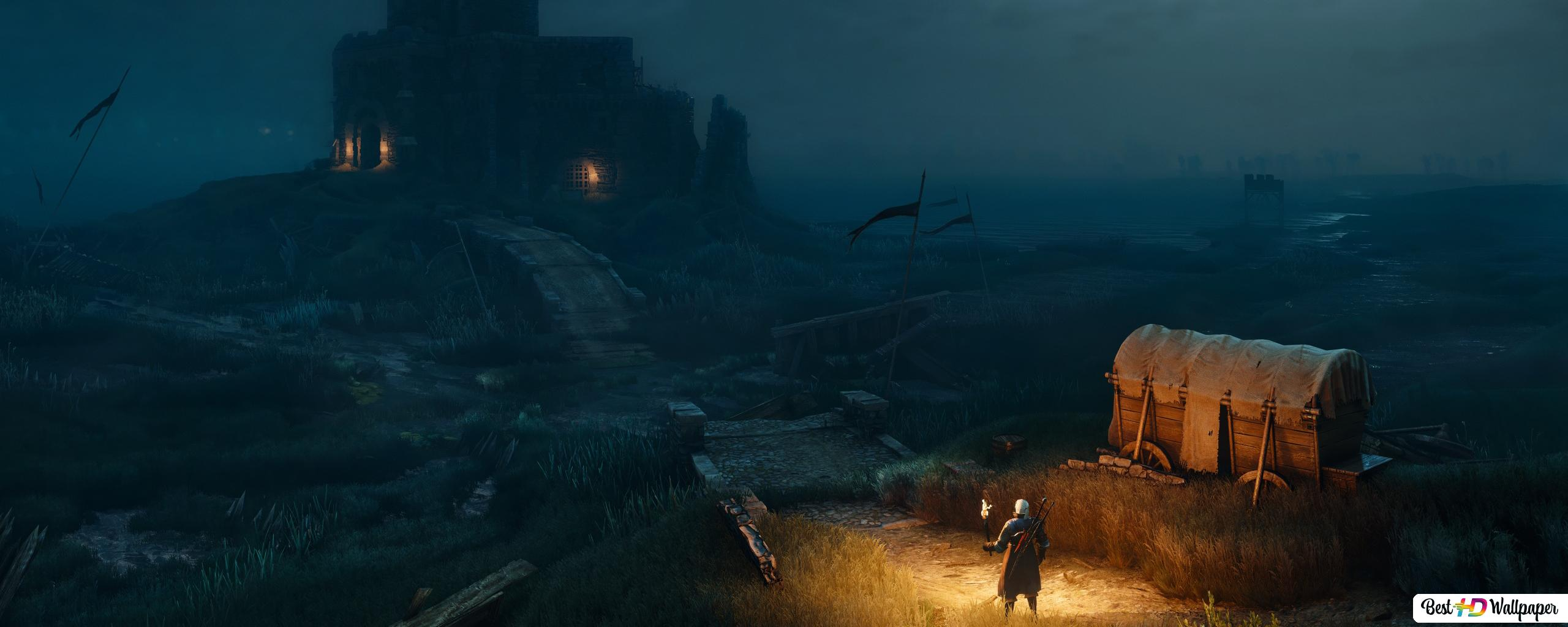 The Witcher 3 Wild Hunt Castle Hd Wallpaper Download