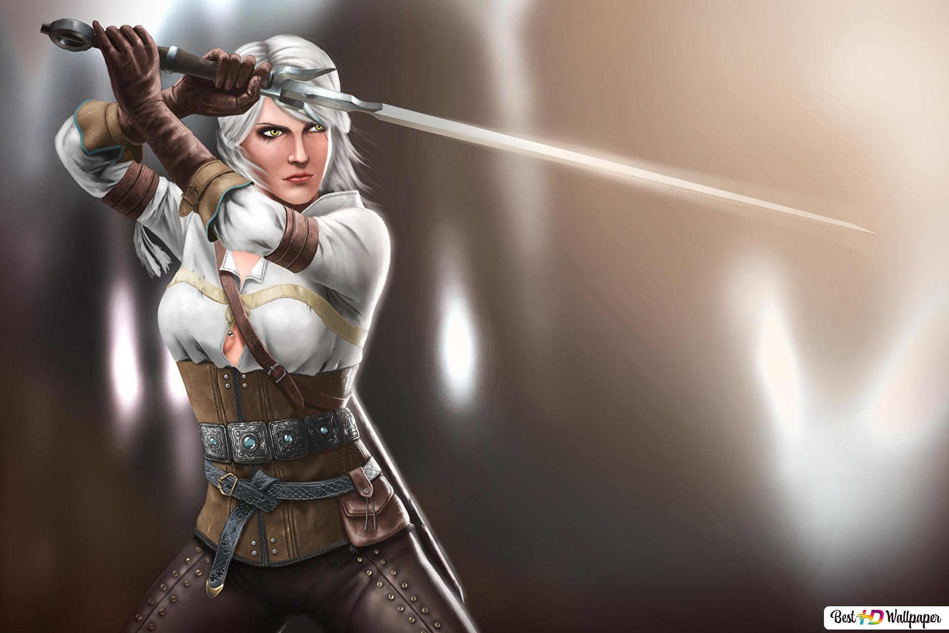 The Witcher 3 Wild Hunt Ciri Fanart Hd Wallpaper Download