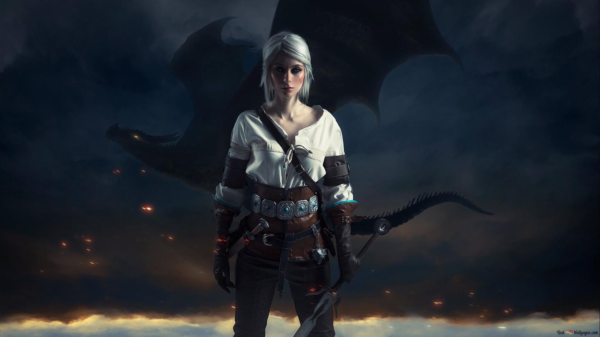 The Witcher 3 Wild Hunt Ciri Hd Wallpaper Download