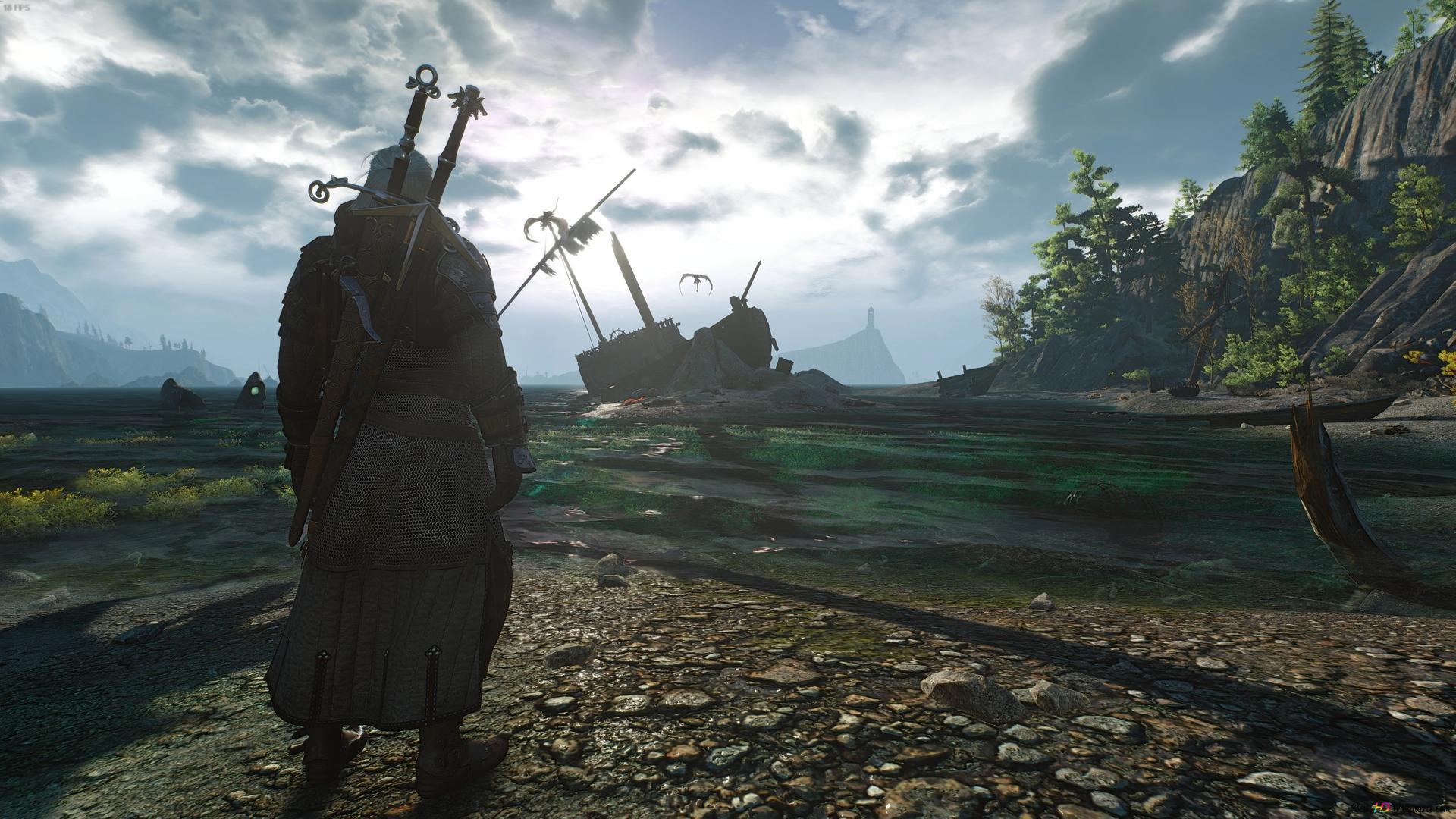 The Witcher 3 Wild Hunt Geralt Of Rivia Warrior Hd Wallpaper