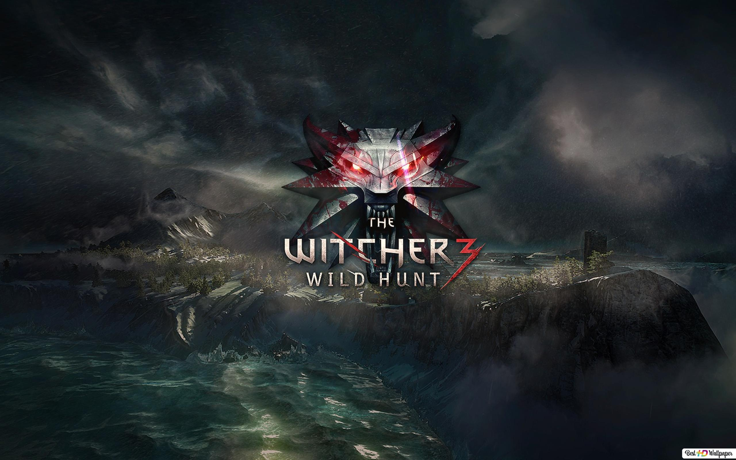 The Witcher 3 Wild Hunt Symbol Hd Wallpaper Download