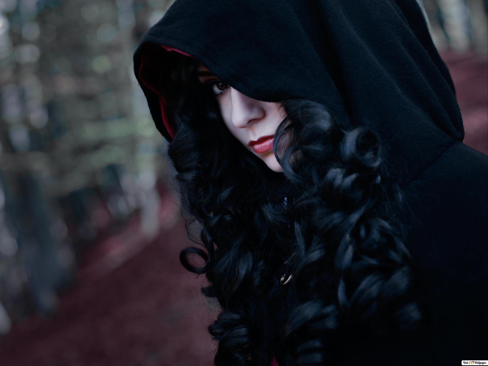 The Witcher 3 Wild Hunt Yennefer Cosplay Girl Hd Wallpaper Download