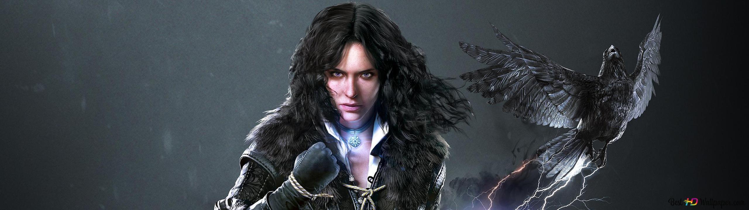 The Witcher 3 Wild Hunt Yennefer Digitale Kunst Hd
