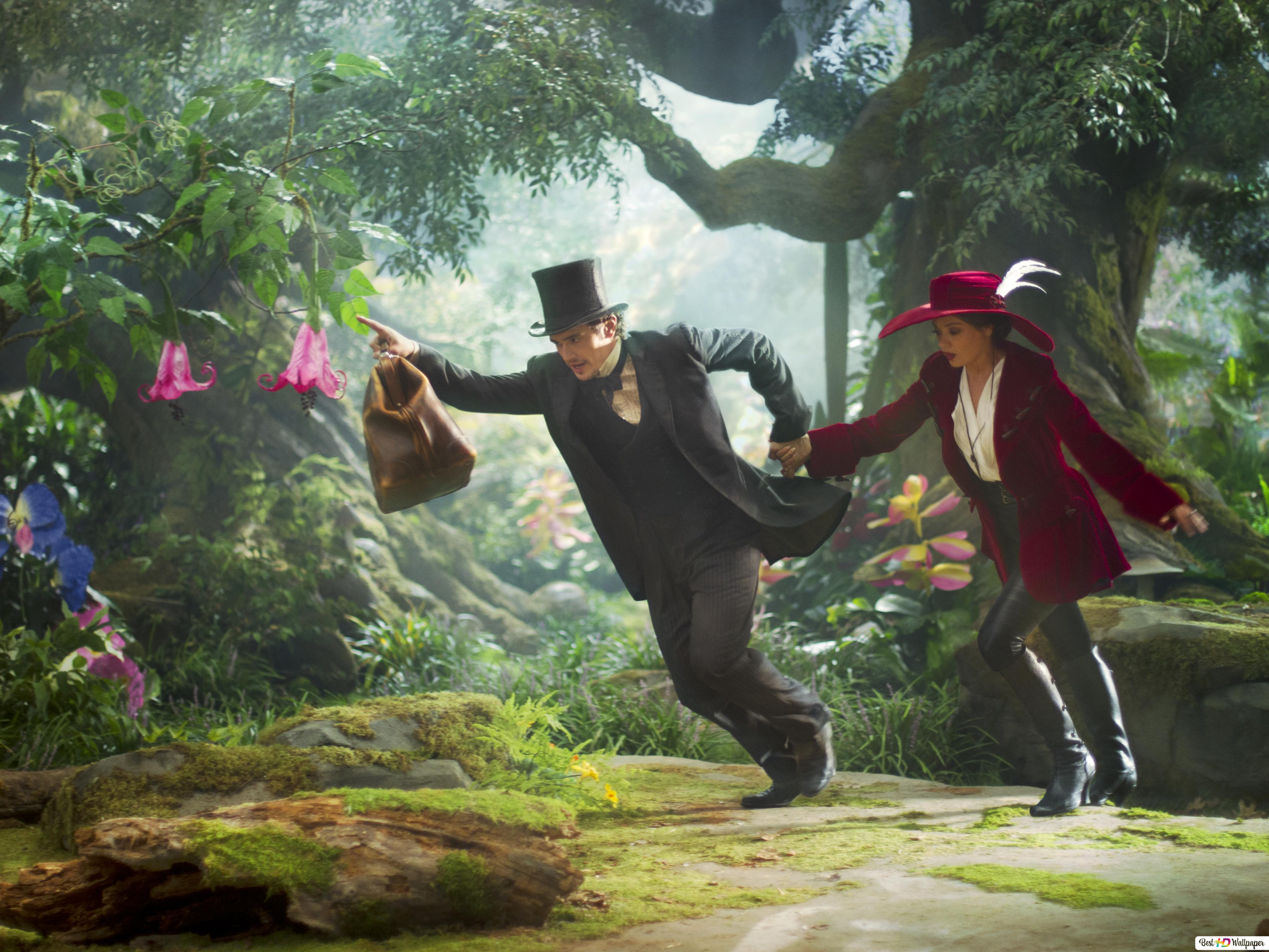 The Wizard And Witch Of Oz Hd Wallpaper Download
