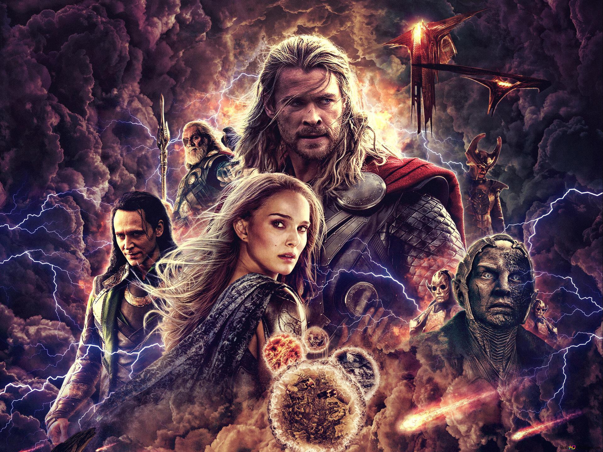 Thor The Dark World Hd Wallpaper Download