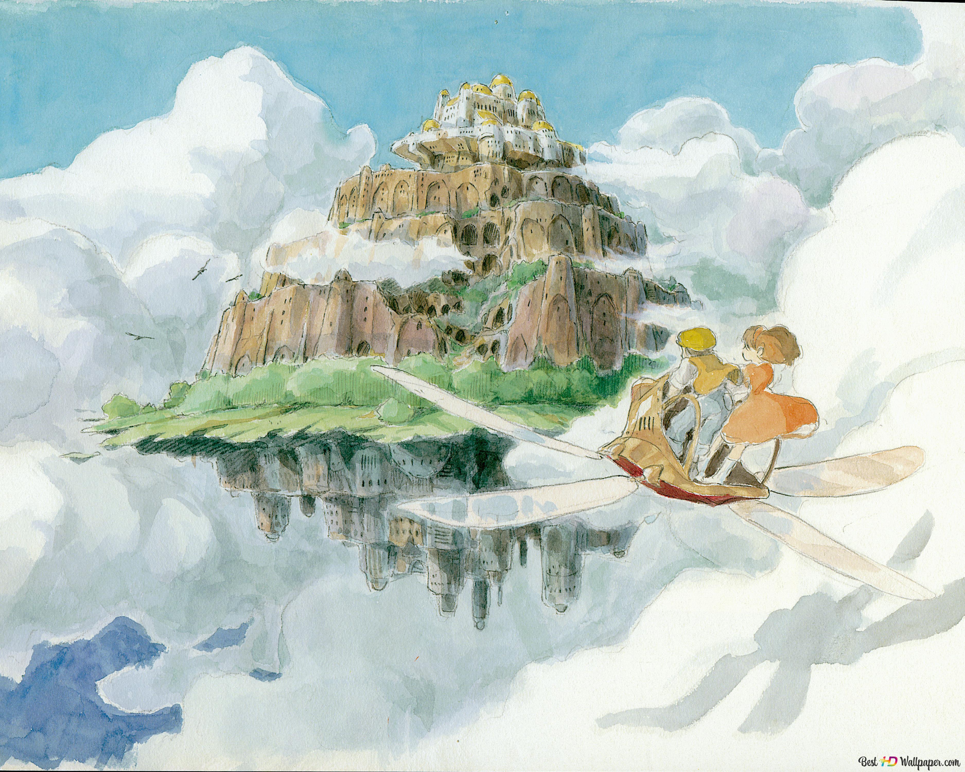 天空の城ラピュタ Hd壁紙のダウンロード