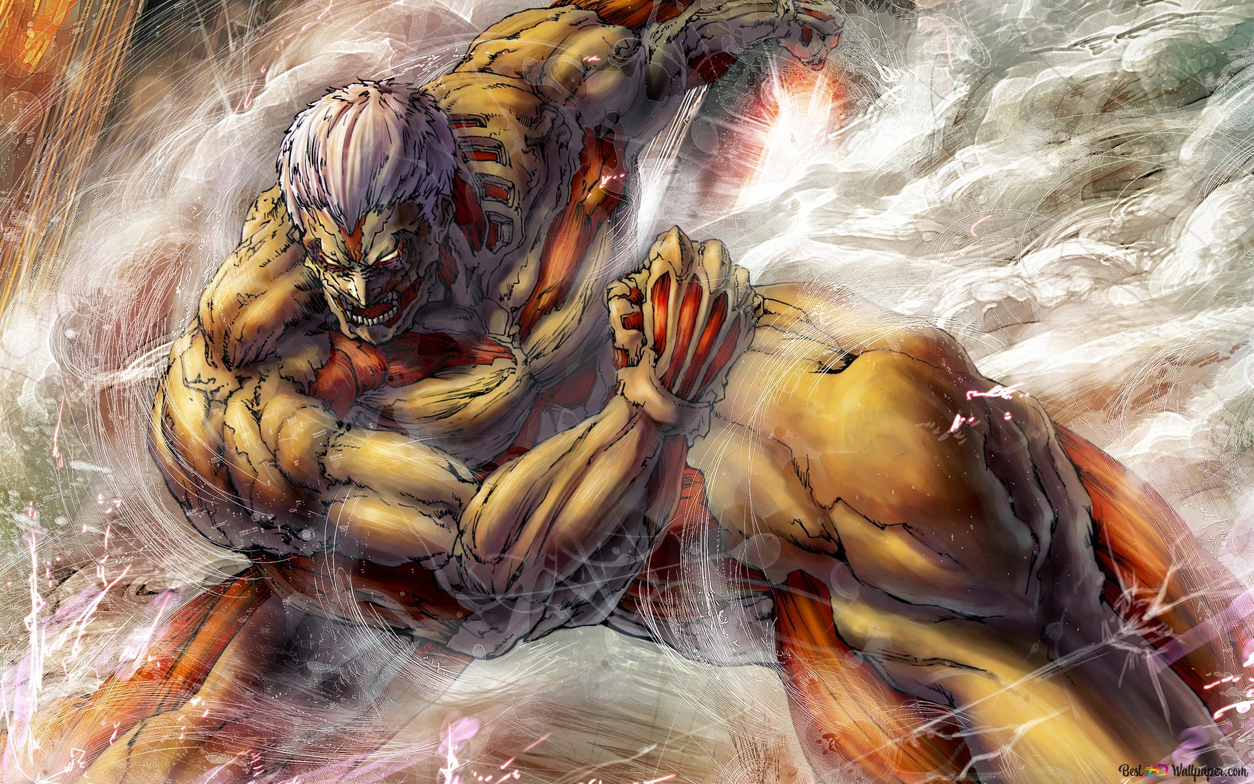 Titan Attack On Titan Hd Wallpaper Download