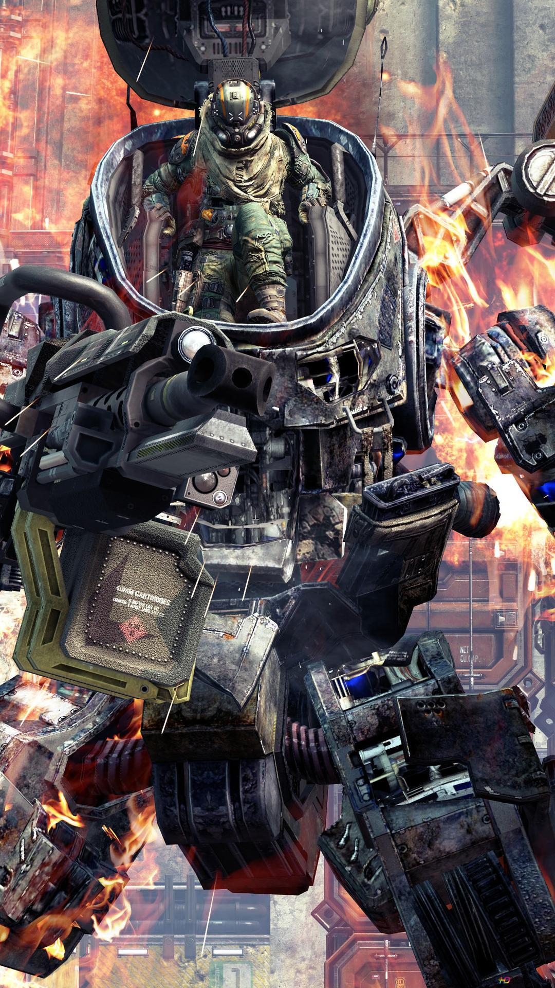 Titanfall 2 War Robots Hd Wallpaper Download