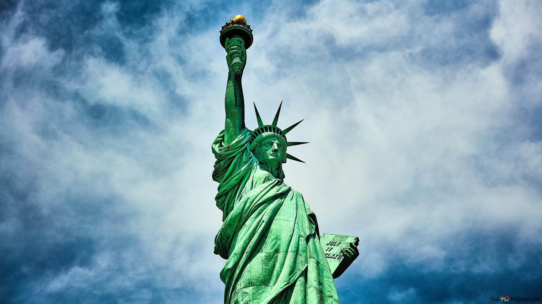 تمثال الحرية تنزيل خلفية Hd