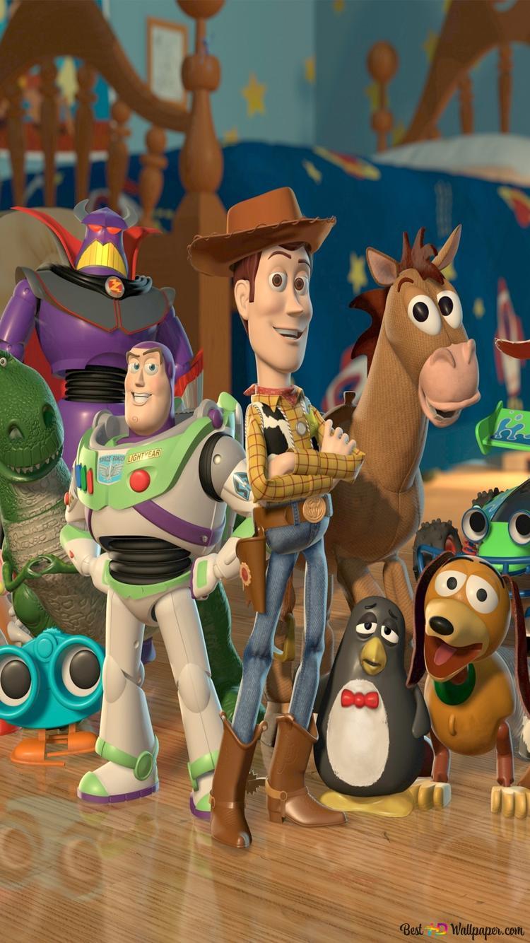 Noar Toy Story Brinquedo Historia Papel De Parede Disney