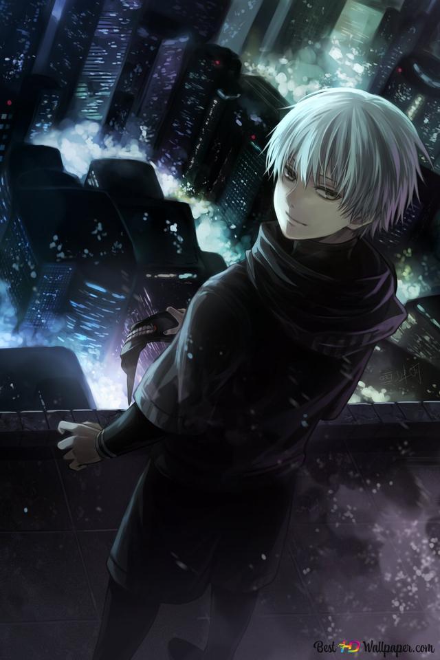 Tokyo Ghoul Kaneki Ken Black Reaper Hd Wallpaper Download