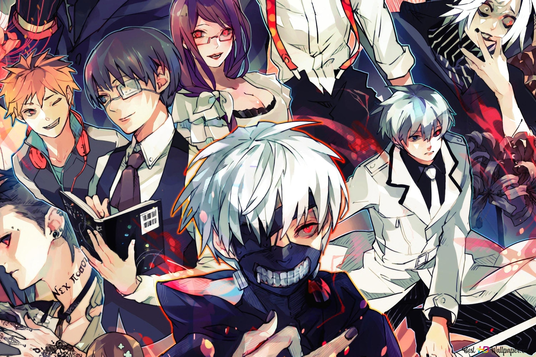 Tokyo Ghoul Re Characters Hd Wallpaper Download