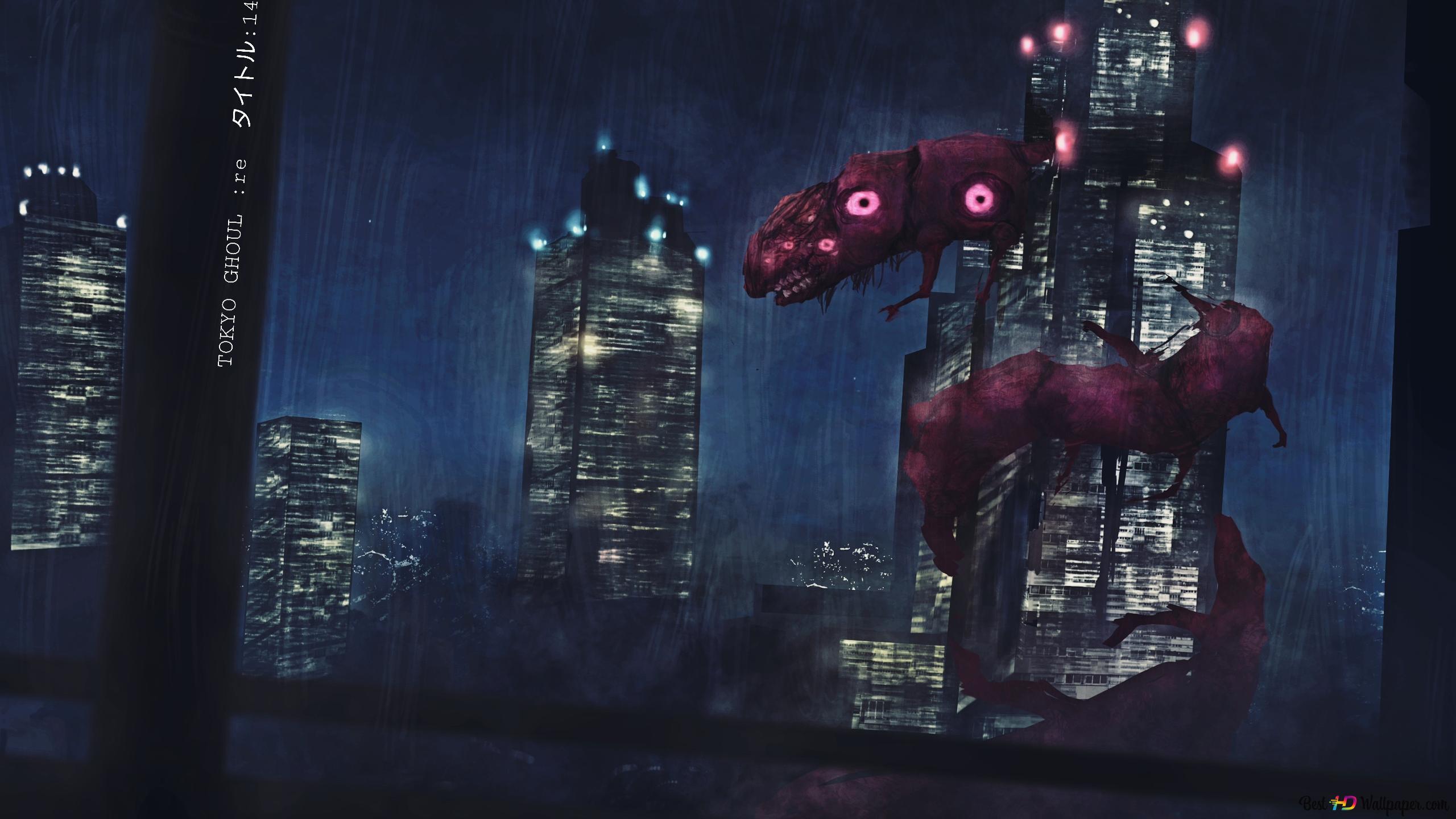 Tokyo Ghoul Re Dragon Kaneki Hd Wallpaper Download