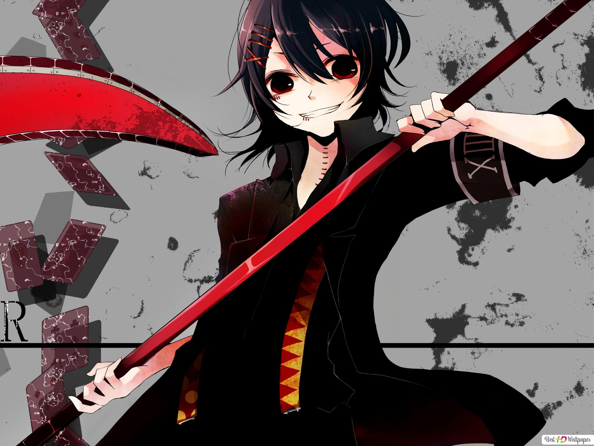 tokyo ghoul re juuzou suzuya joker scyth wallpaper 2048x1536 9806 26