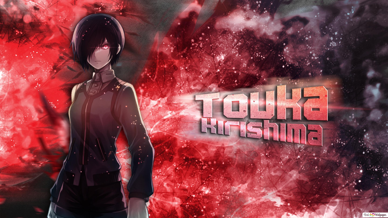 Tokyo Ghoul Touka Kirishima Hd Wallpaper Download