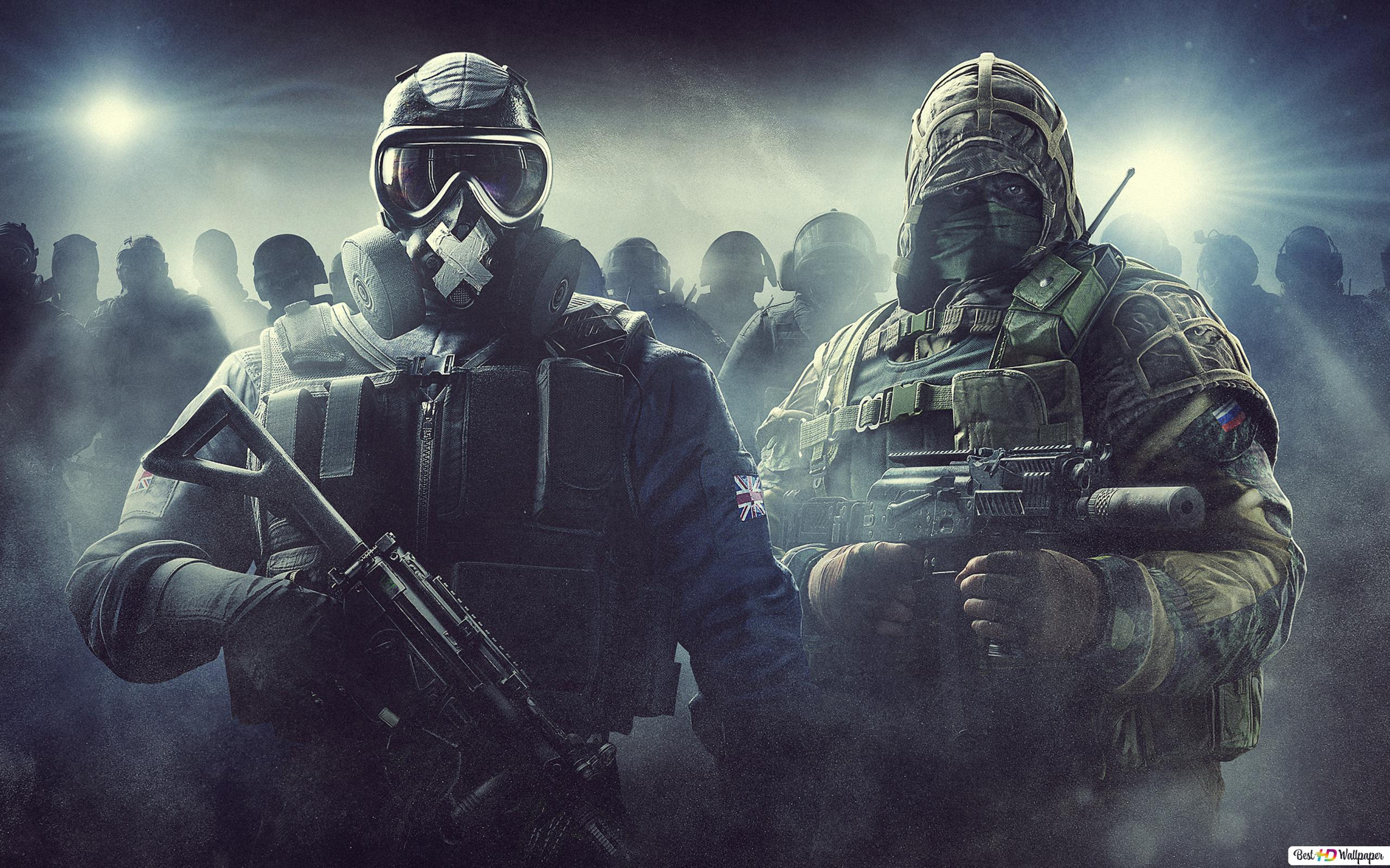 Tom Clancys Rainbow Six Siege Wallpaper Wall Giftwatches Co