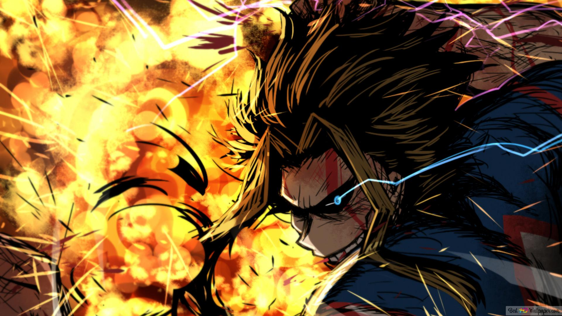 Toshinori Yagi - My Hero Academia HD wallpaper download