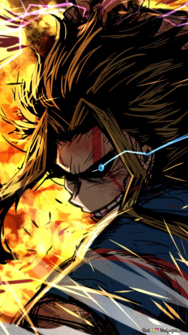Toshinori Yagi My Hero Academia Hd Wallpaper Download