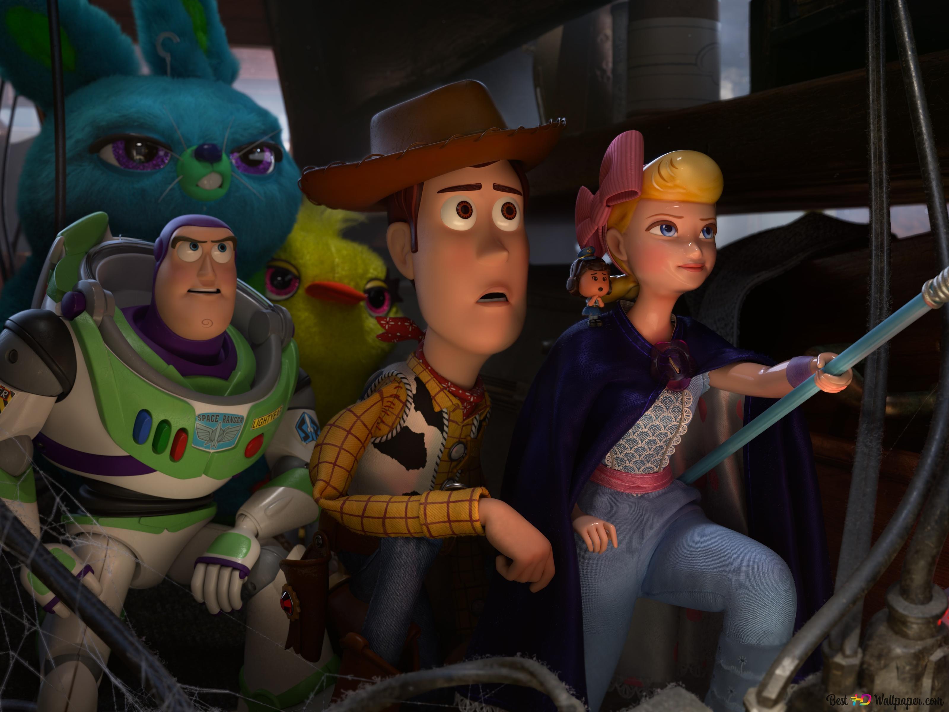 Toy Story 4 Bunny Ducky Buzz Lightyear Woody Bo Peep Hd