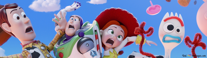 Toy Story 4 Woody Buzz Lightyear Jessie Forky Hd
