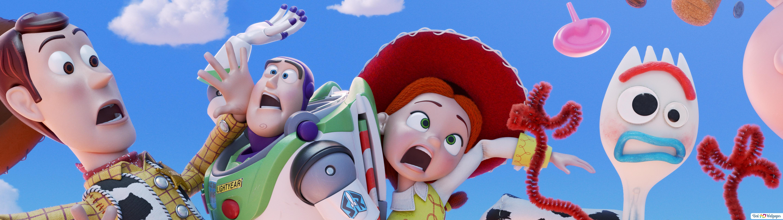 Toy Story 4 Woodybuzz Lightyearjessie Forky Hd