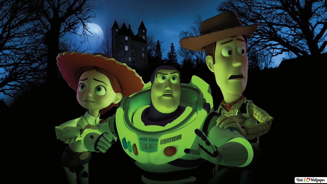 Toy Story Andy Buzz Lightyear And Jessie Hd Wallpaper Download