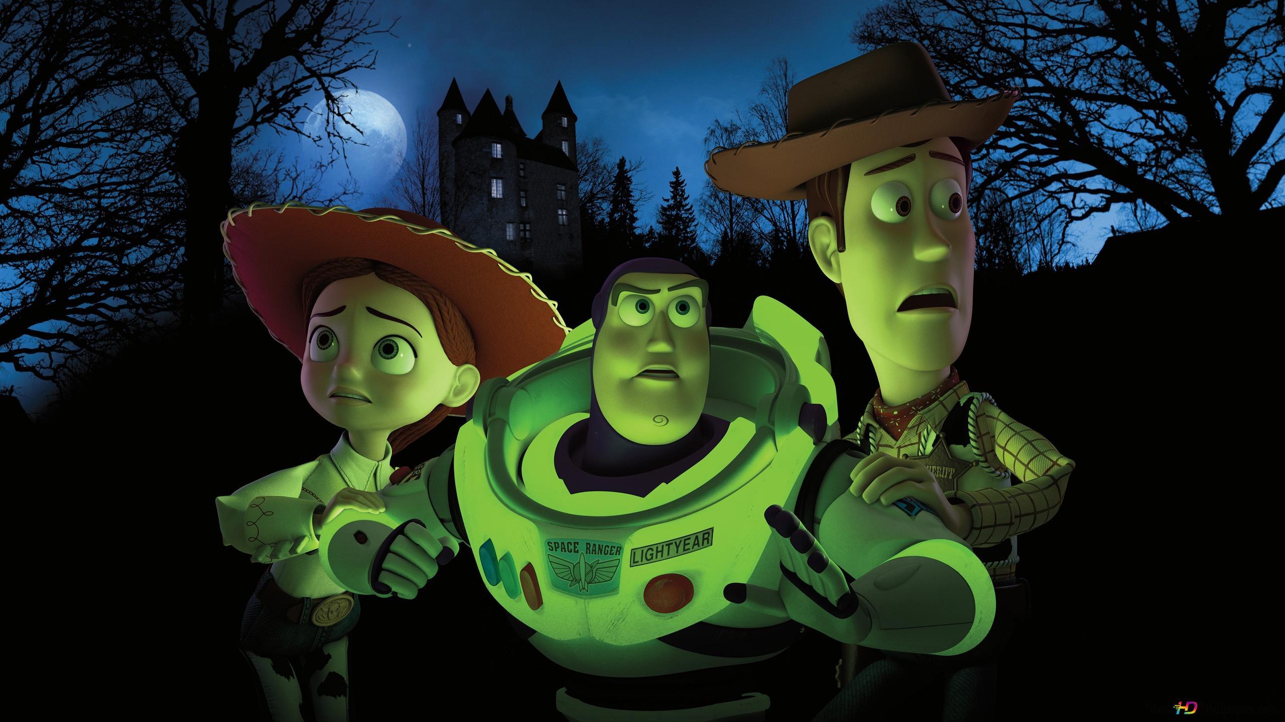 Toy Story Andy Buzz Lightyear Und Jessie Hd