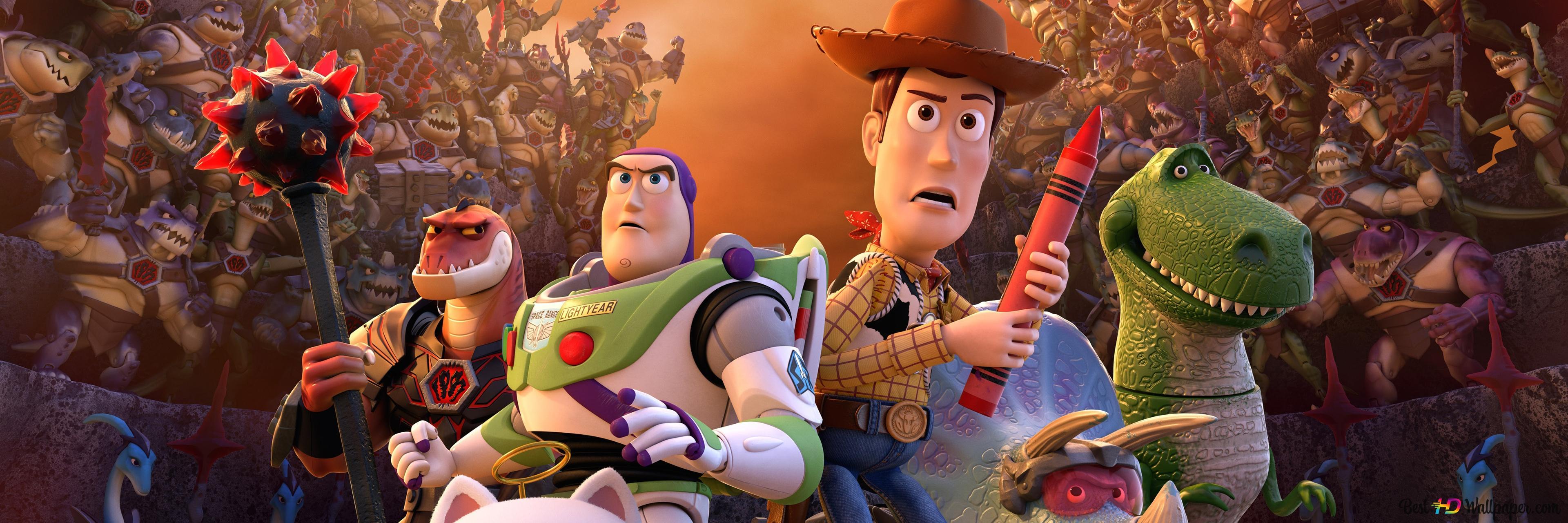 Toy Story Ten Cas Zapomenul Stazeni Hd Tapety