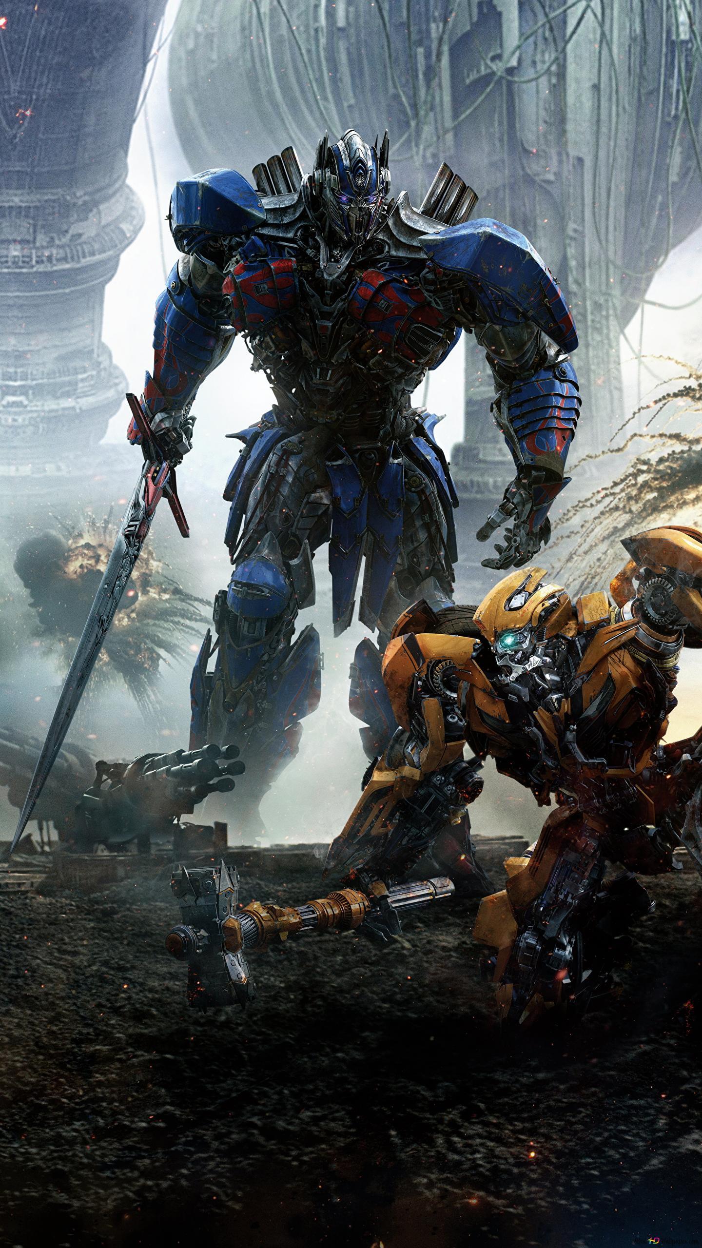 Transformers The Last Knight Optimus Prime I Bumblebee Hd