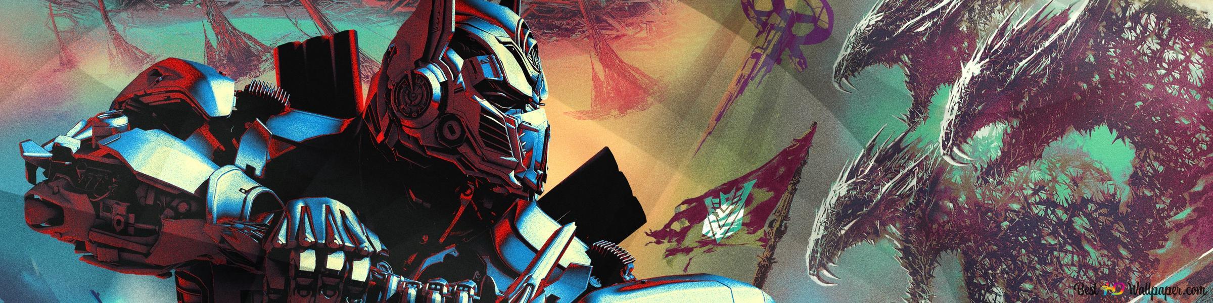Transformers The Last Knight Optimus Prime Hd Wallpaper Download