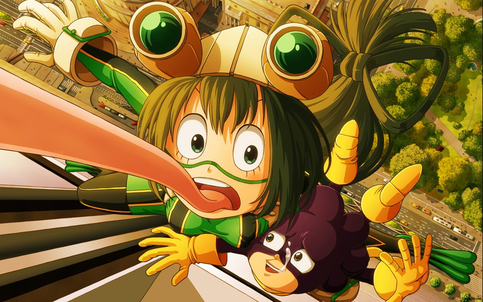 Tsuyu Asui Minoru Mineta Hd Wallpaper Download