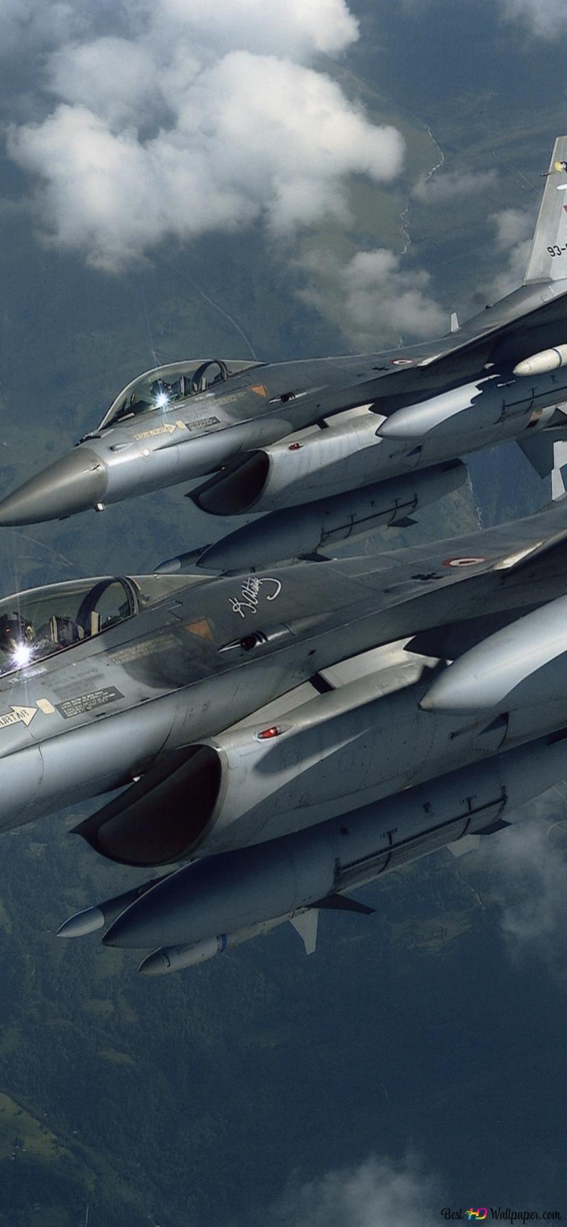 Turkish Air Force F21 War Plane HD Hintergrundbilder herunterladen