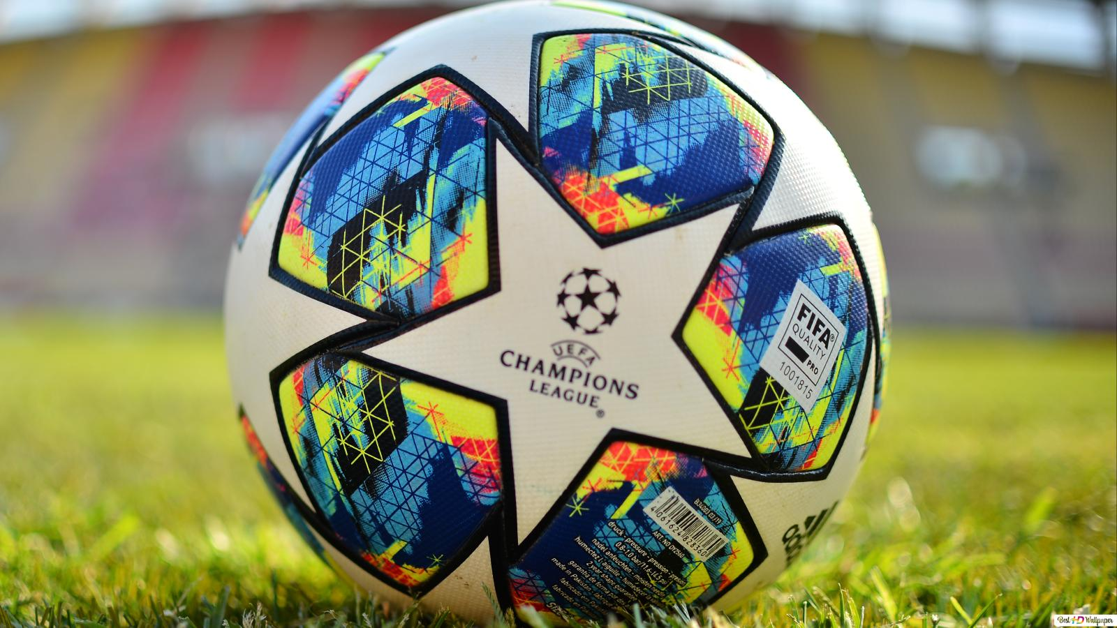 UEFA Champions League 2019 - 2020 Official Ball close up HD wallpaper  download