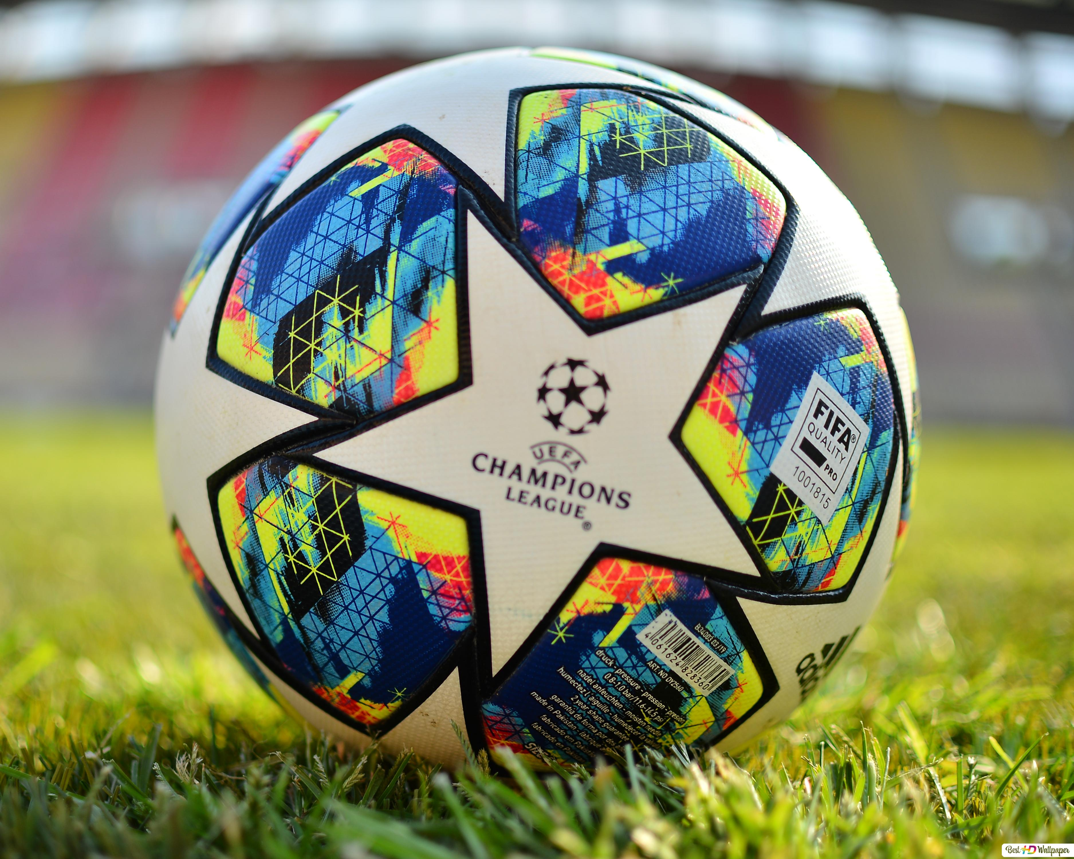 uefa champions league 2019 2020 official ball close up hd wallpaper download uefa champions league 2019 2020