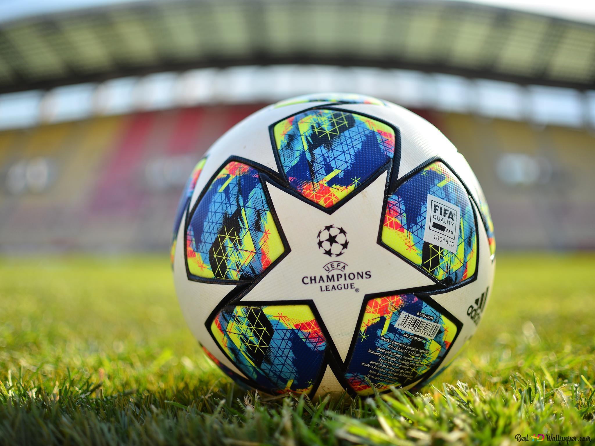 Uefa Champions League 2019 2020 Official Ball Hd Wallpaper Download