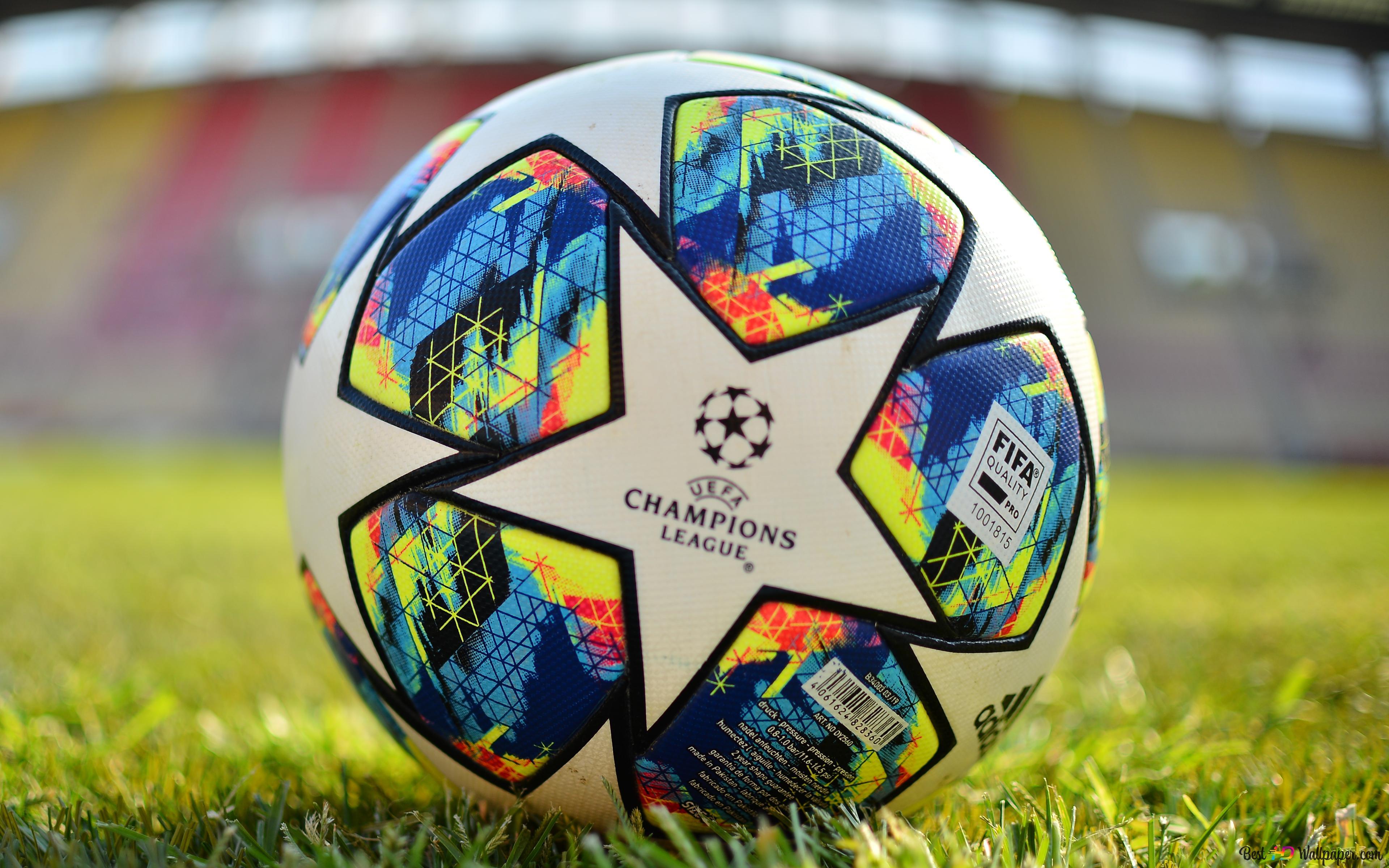 Uefaチャンピオンズリーグ2019 2020公式球は クローズアップ Hd壁紙