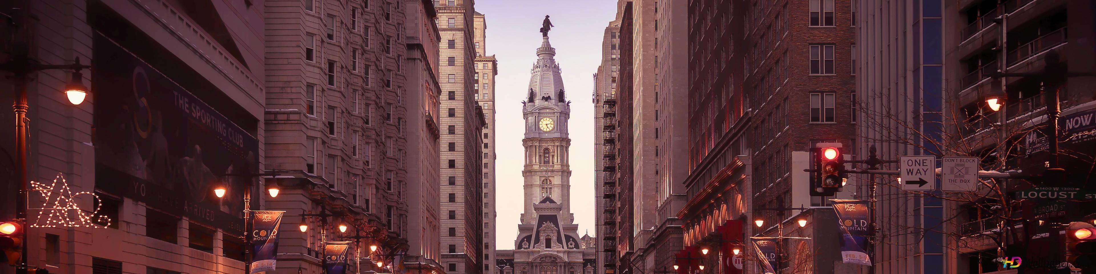 Un Philadelphia Calme Hd Fond Décran Télécharger