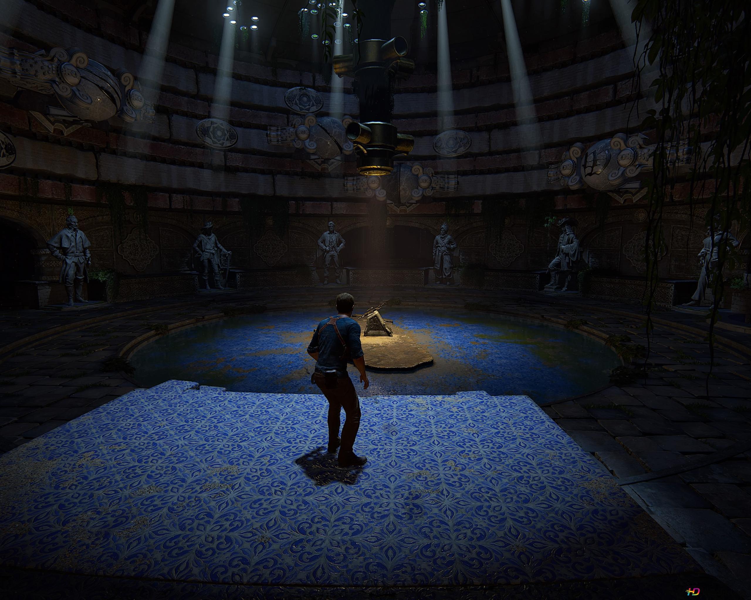 Uncharted Iv Nathan Drake S Treasure Hd Wallpaper Download