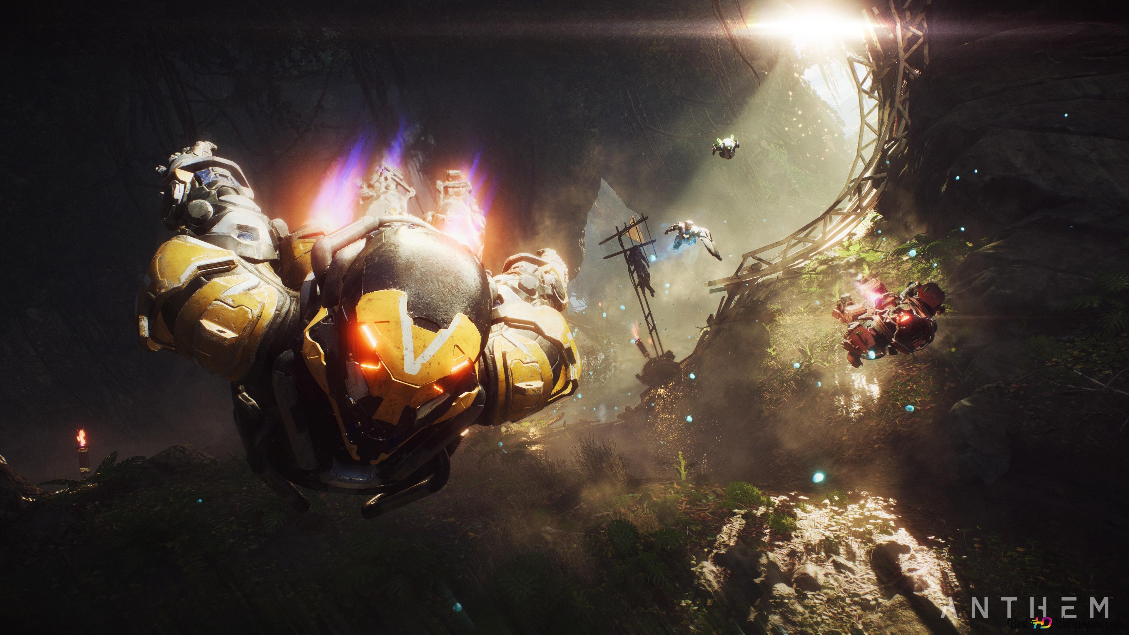 Underwater of Anthem HD wallpaper download
