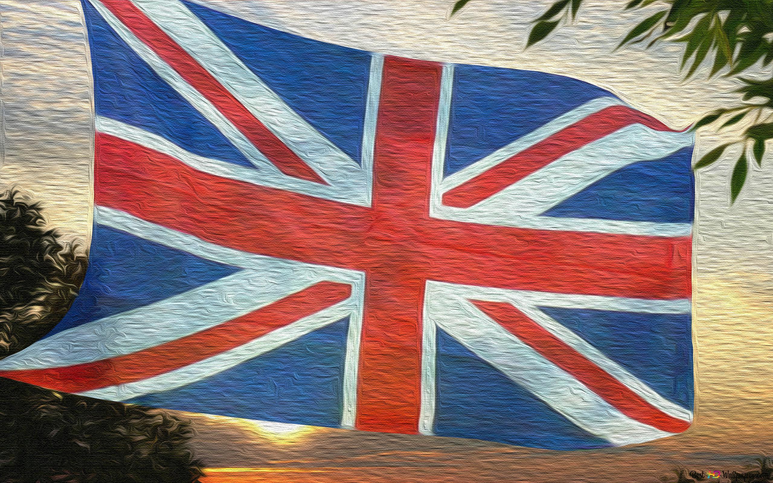 Union Jack Britse Vlag Hd Wallpaper Downloaden