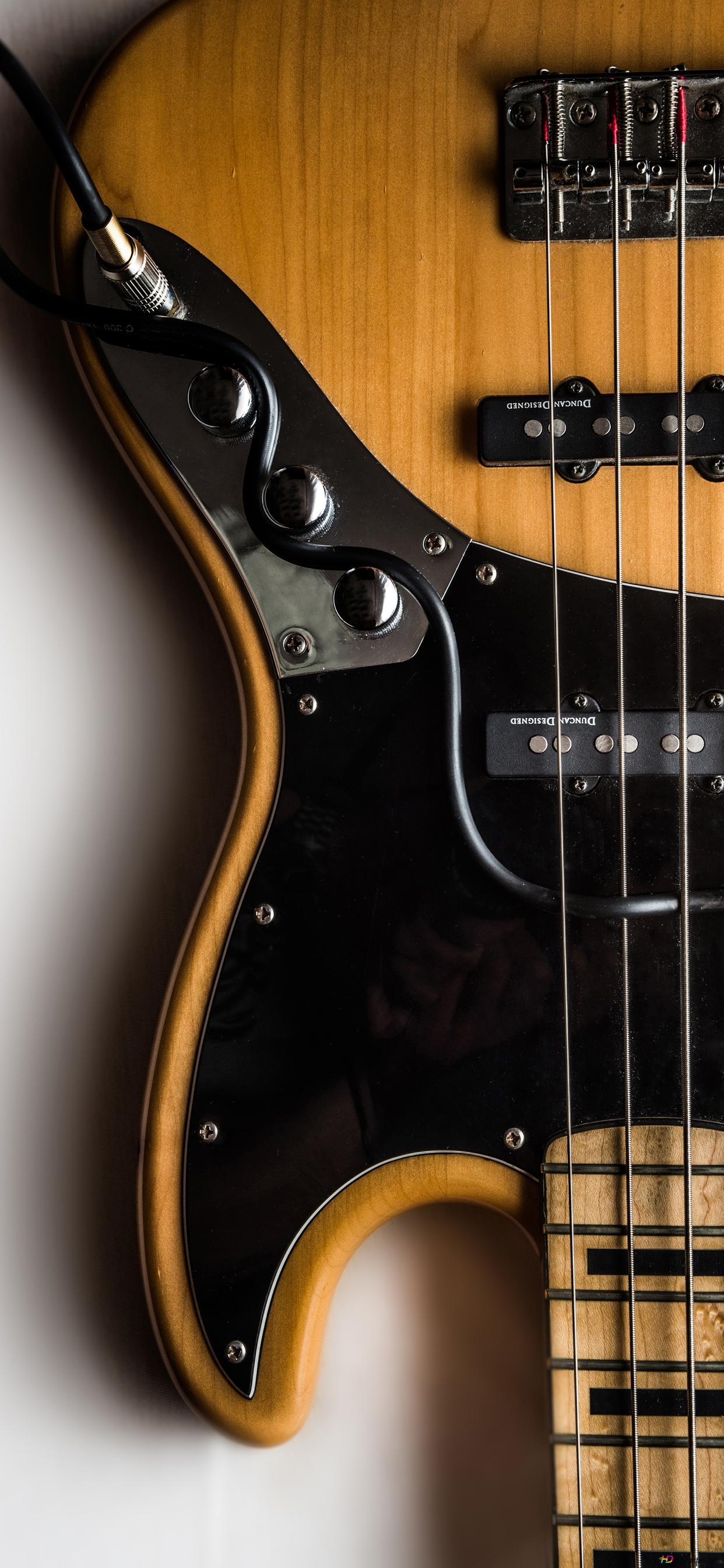 Music Instrument Electric Bass Guitar Wallpaper